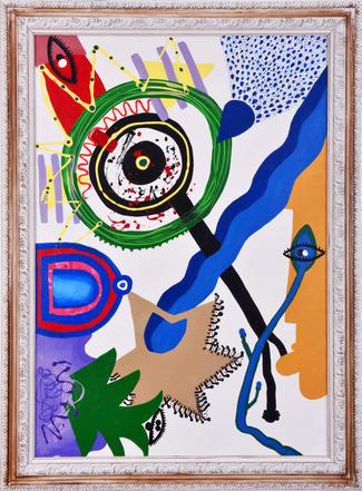 'Let oneself go' , 100x70cm 2020 Tuval üzerine akrilik