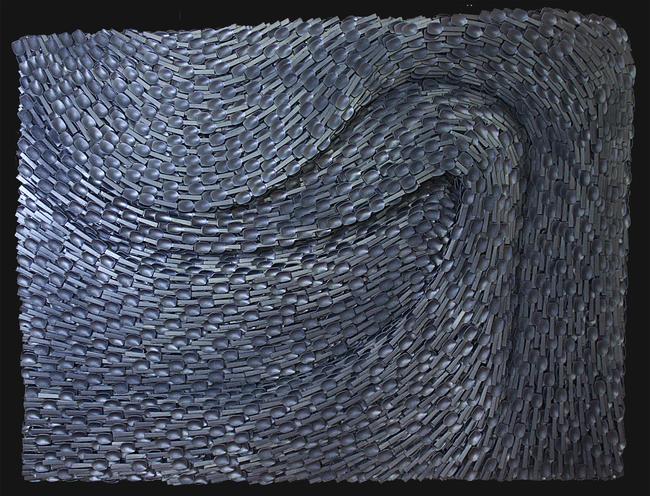 'Vadi', 105x140cm 2107 Karışık teknik