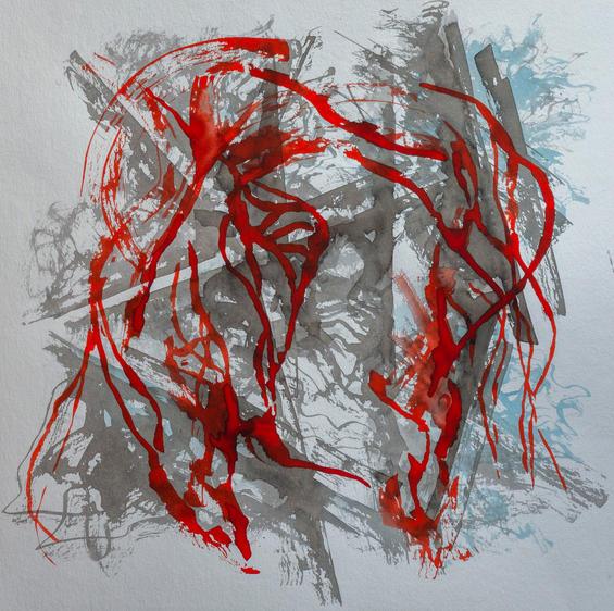 Lena Morfogeni_ink on paper_40x40_500 eu