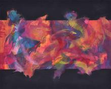 'Semazenler', 80x100 2008 Tuval üzerine akrilik