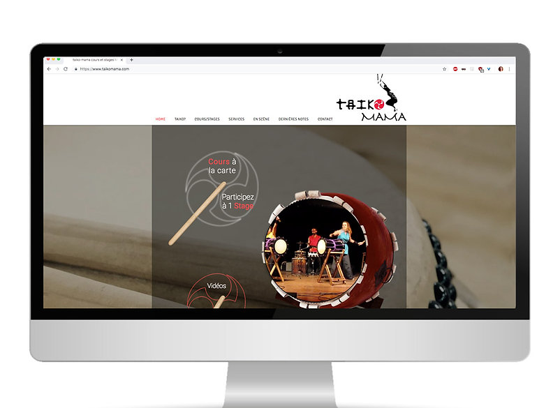 site web Taiko Mama à Montpellier