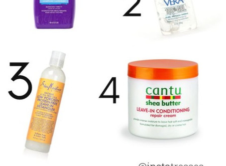 SIX GREAT PRODUCTS FOR YOUR NATURAL HAIR