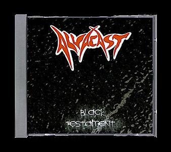 Black Testaments Alvacast CD cover