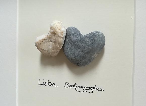 Steinbild, Stoneart - Bedingungslose Liebe