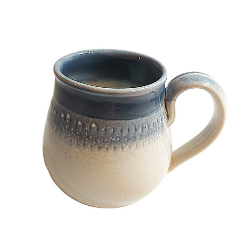 Hand Thrown Pottery Scandinavian Style Tea Mug
