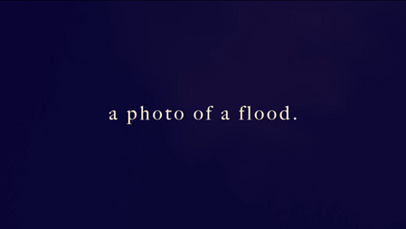 A photo of a flood.