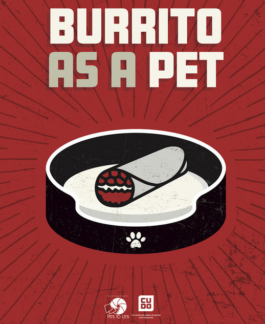 Burrito as a Pet