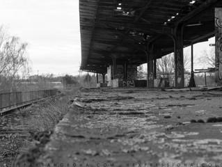 forgotten railway stations: Siemensbahn