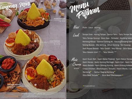 Daftar Harga Tumpeng Mini, Nasi Box dan Tumpeng Besar