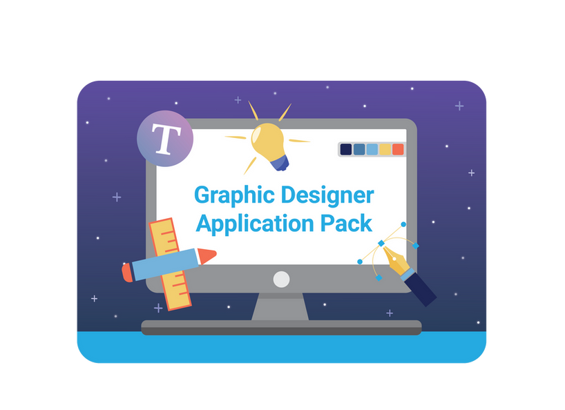 Graphic Design Application Pack