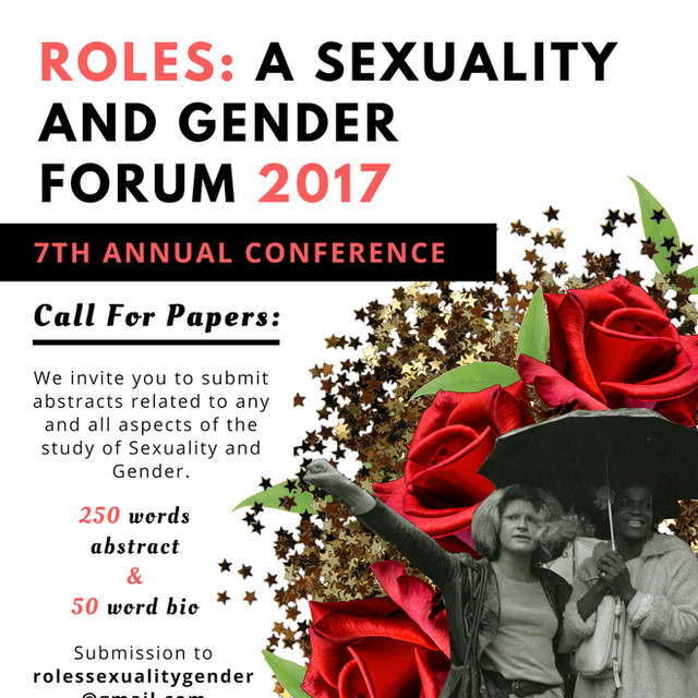 Roles: A Sexuality and Gender Forum Poster