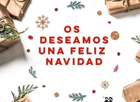 Os queremos desear unas Felices Navidades