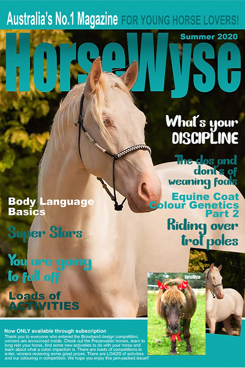 Summer 2020 HorseWyse Issue