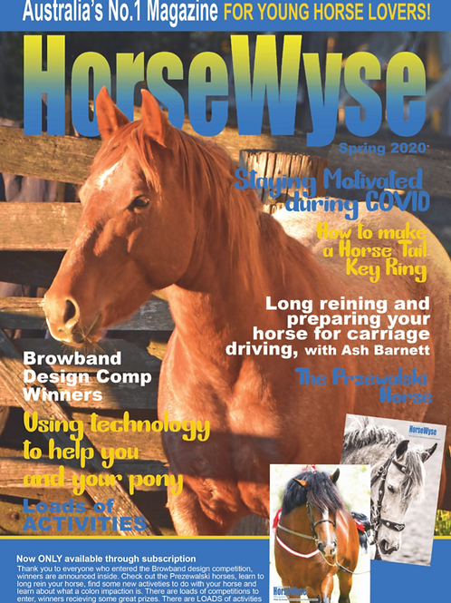 Spring HorseWyse Issue