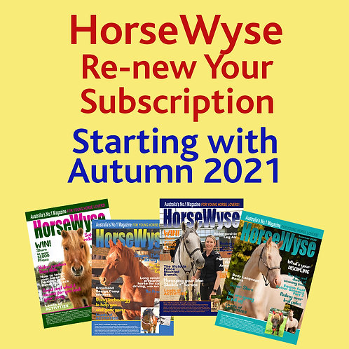 Renewing - One Year Subscription