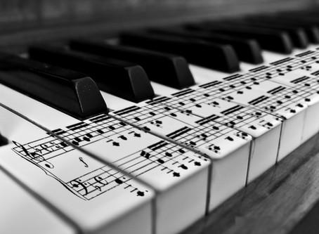 As notas da música e a música das notas