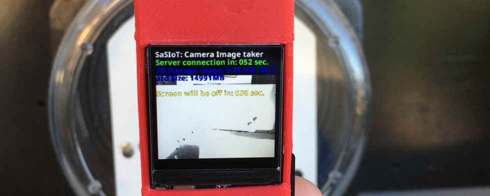 LCD screen provides details