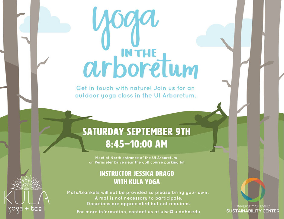 Yoga in the Arboretum