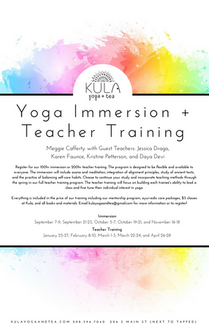 Yoga Immersion/Teacher Training