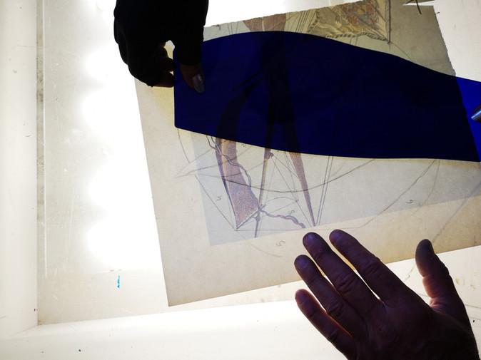 LABORAT03RE_Initiation au vitrail avec Bernard Tirtiaux