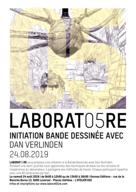 Affiche du LABORAT05RE_Dan verlinden