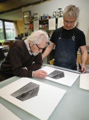 Georges Vercheval et Bruno Robbe