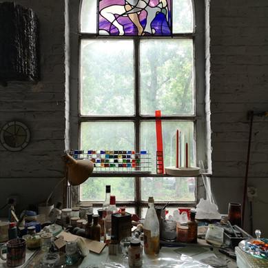LABORAT03RE_Le vitrail avec Bernard Tirtiaux