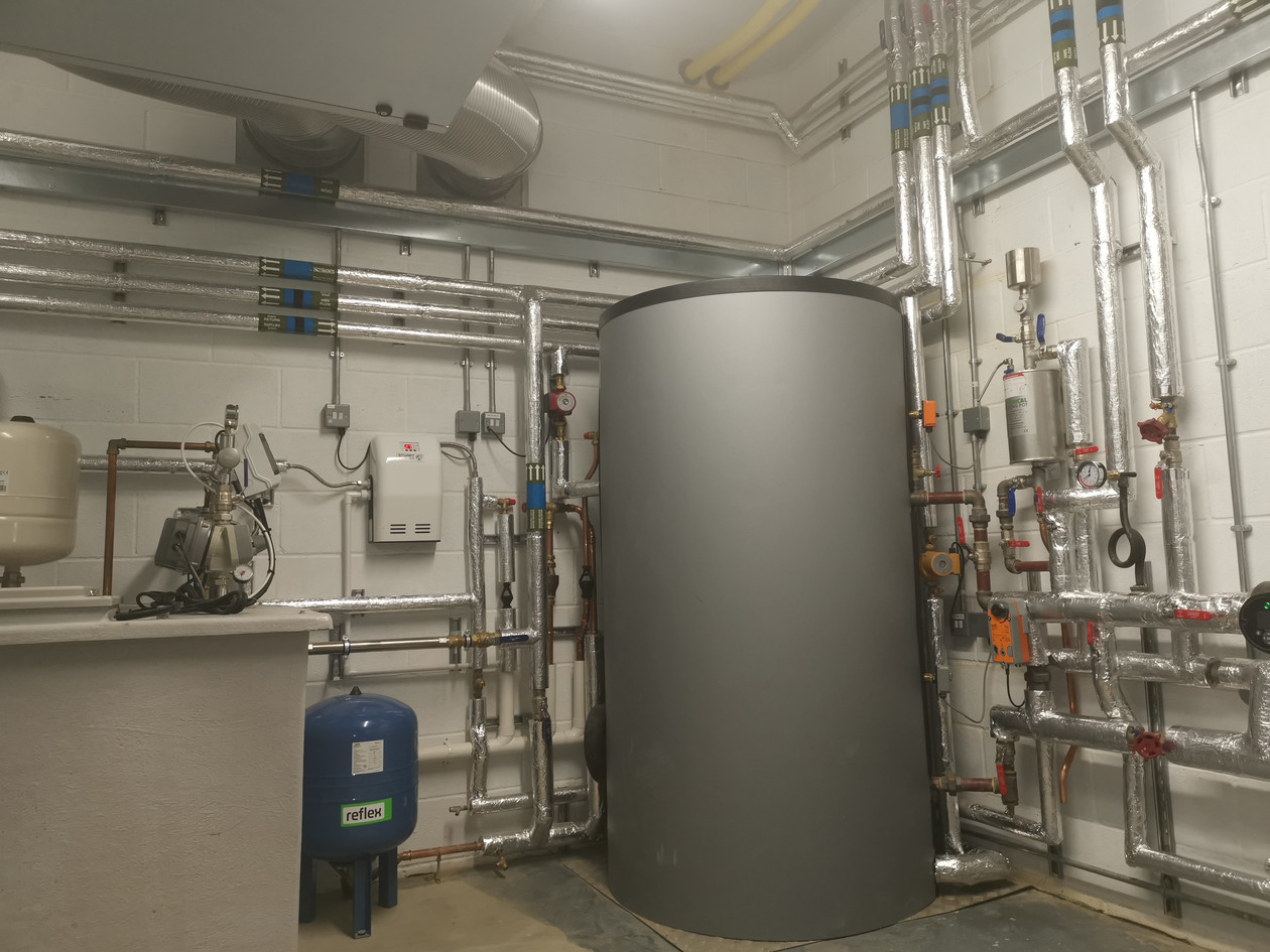 Plant room HVAC Boiler Controls TWGGS.jp