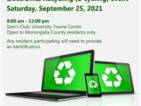 Get ready for the September  Electronics Recycling Event