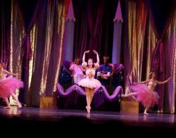 Hannah in nutcracker performance wsb