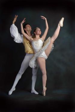 Partnering Dance Ballet photo shoot