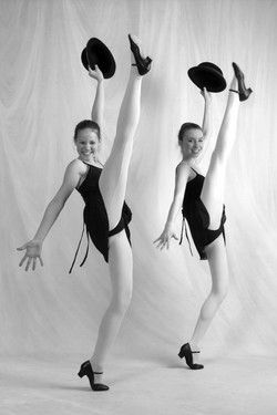 Tap and Jazz Class dancers