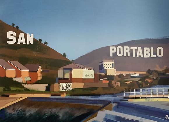 San Portablo Print