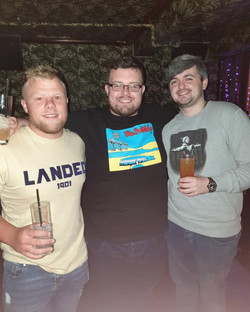 Dylan, Geraint, Nathan - Boozer, Dublin