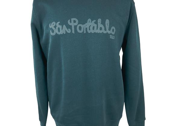 Unisex San Portablo 2020 Sweatshirts - Black Print