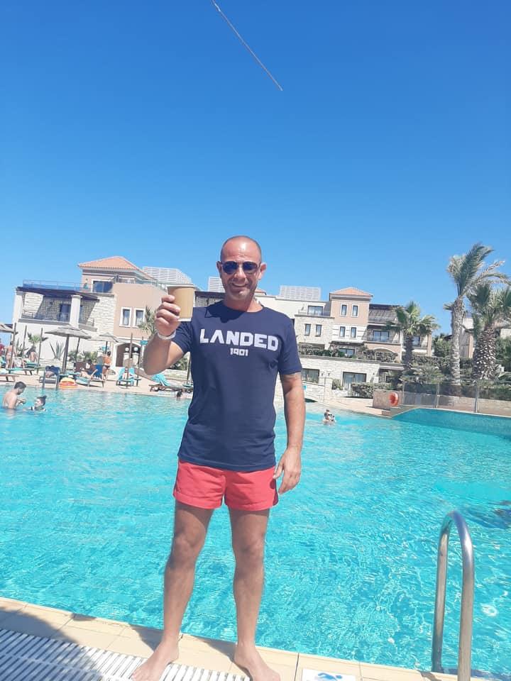 Mike in Crete