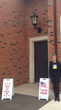 Polling Booth Michigan