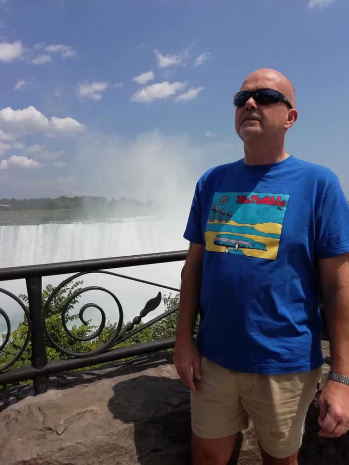 Phil in Niagra Falls