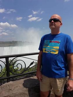 Phil in Niagra Falls