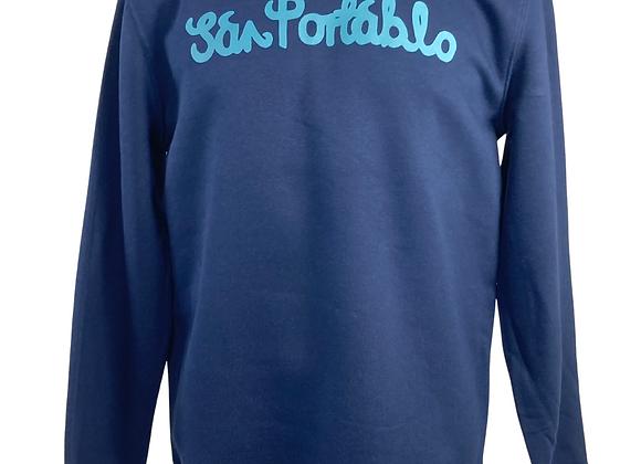 Unisex San Portablo 2020 Sweatshirts - Light Blue Print