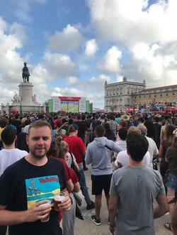 Chris Bennett in Lisbon