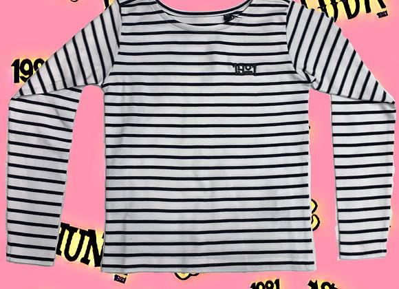 Kids Unisex 1901 Breton Long Sleeved T-shirt