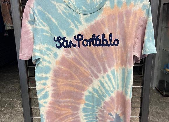 San Portablo Tie-Dye Pastel T Shirt