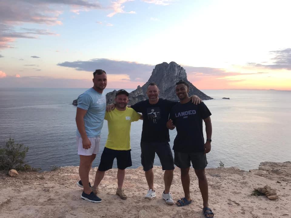 Gents in Ibiza
