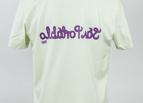 San Portablo 2020 T-shirt - Purple Print.