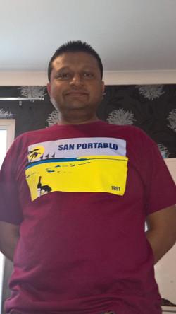 San Portablo's top Waiter Aklas
