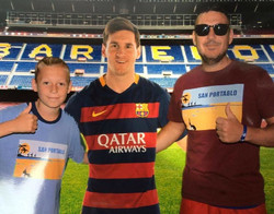 Jarvis with Messi
