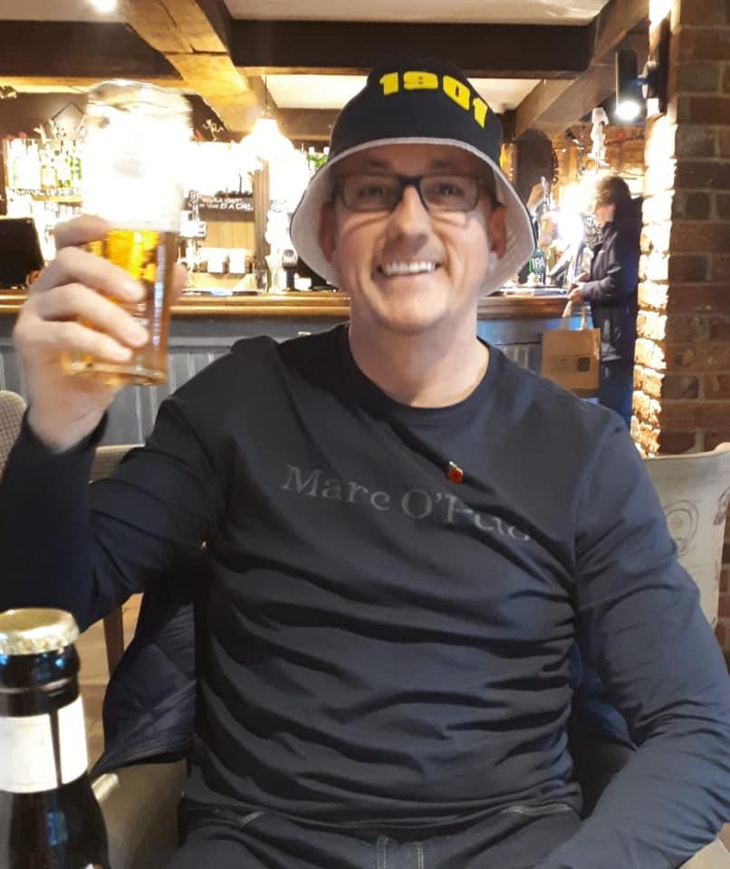 Steve in Airport