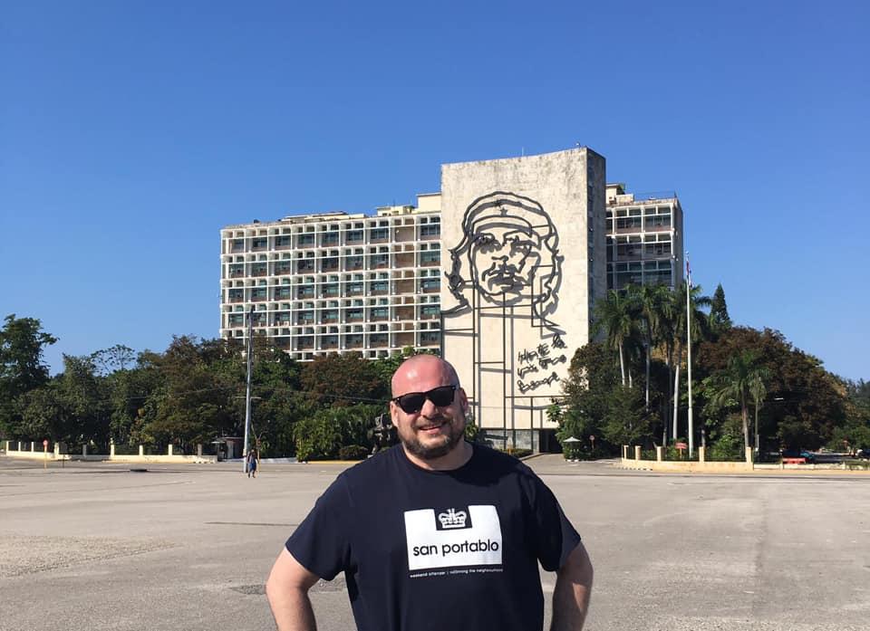 Tony in Havana