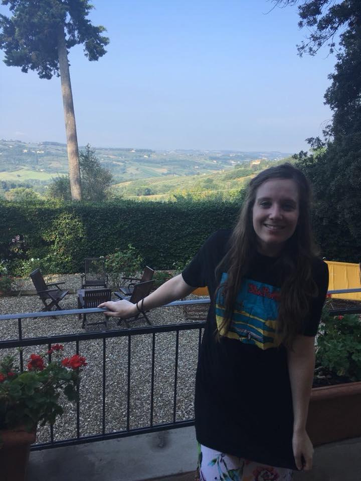 Cara in Tuscany